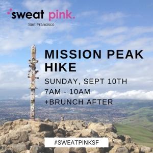 SWEATPINKSF MISSION PEAK HIKE